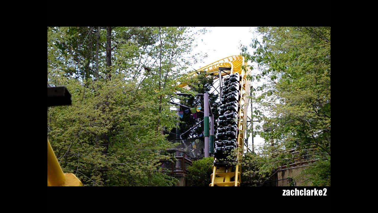 Busch Gardens Europe Lochness Monster 2013 Hd Youtube