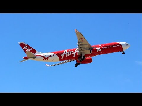 Air Asia X A330 at Adelaide Airport - 9M-XXI