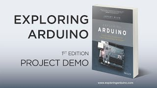 """""""Exploring Arduino"""" Chapter 14 Demo: Network Control"""