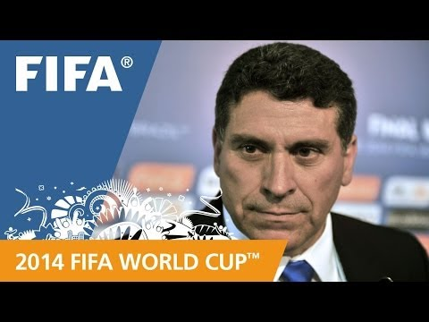 Honduras Luis Fernando SUAREZ Final Draw reaction