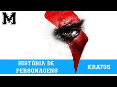 História de Personagens de Games - Kratos