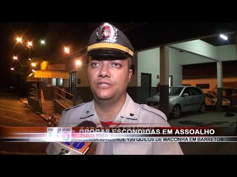 14/03/2019 - Polícia Rodoviária apreende grande quantidade de drogas após abordagem em Barretos