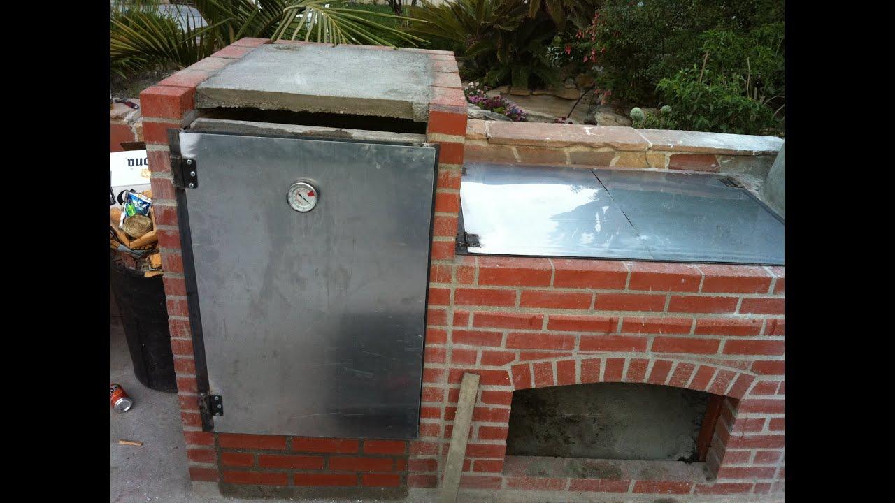 Construccion de parrilla y horno youtube - Parrillas y hornos a lena ...