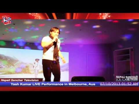 Yash Kumar live performance in Melbourne, Australia