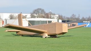 Smurfit Kappa's ingenuity flies sky-high with cardboard plane