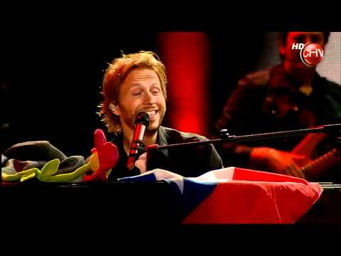 Noel Schajris - Mientes tan bien & Que lloro (live) Viña del Mar 2011 HD