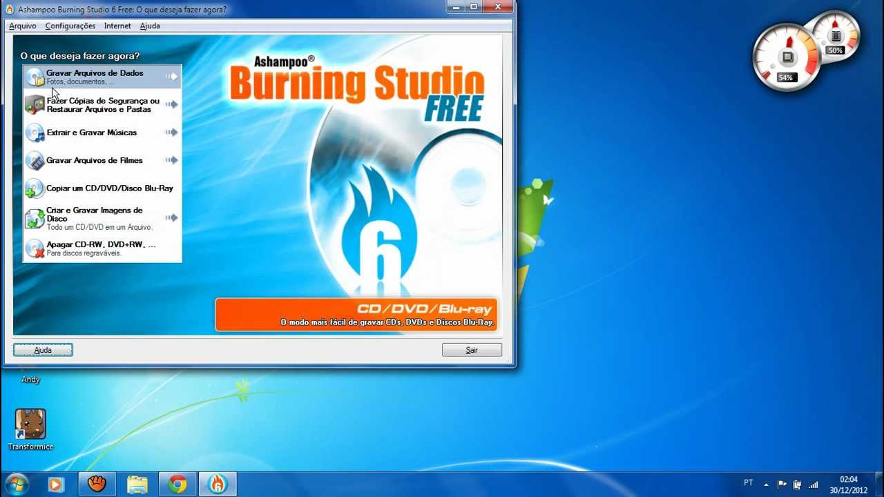 Ashampoo Burning Studio 6 Free -