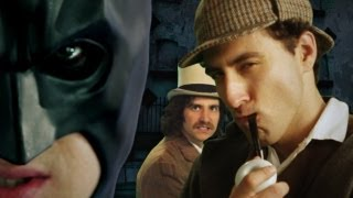 Batman Vs Sherlock Holmes. Epic Rap Battles Of History