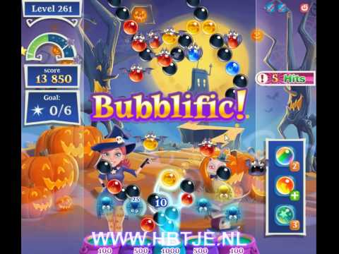 Bubble Witch Saga 2 level 261