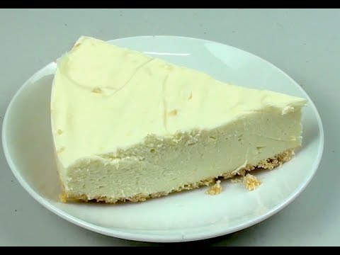 LEMON CHEESECAKE - No Bake Recipe
