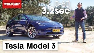 2019 Tesla Model 3 review – Exclusive European road test | What Car?