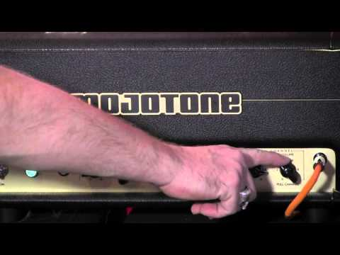 Mojotone Studio 1 tube amplifier head demo with Gibson Les Paul Traditional Pro