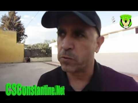 Interview avec l'entraineur du CSC M.Rachid Bouarata