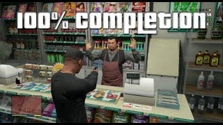 GTA V 100% Completion Guide (Part 4, Miscellaneous