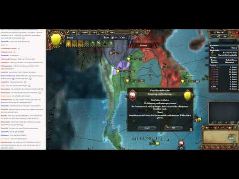 Livestream Europa Universalis IV Brunei to Malaysia 07 (Let's Play/Deutsch)