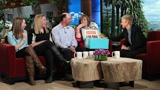 Ellen Has a Surprise for This Family