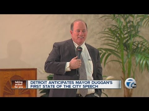 Detroit anticipates Mayor Mike Duggan's first State of the City speech