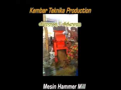 hammer mill mesin penggiling.mp4