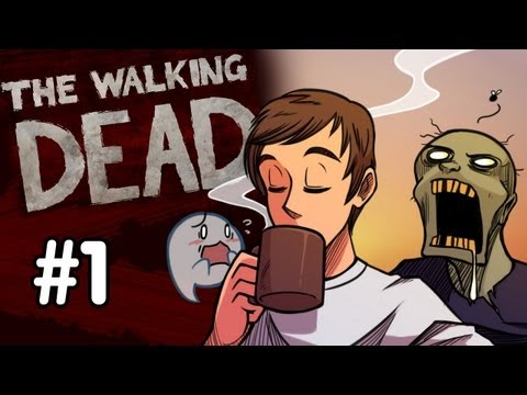 The Walking Dead Walkthrough - Part 1 - THIS IS AWESOME!! (Xbox 360/PS3/PC/Mac Gameplay) HD