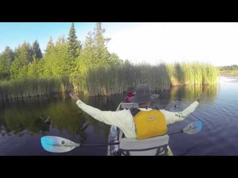 Indiana James and Yo Simmity Sambo Kayak Fishing on Taylor Lake