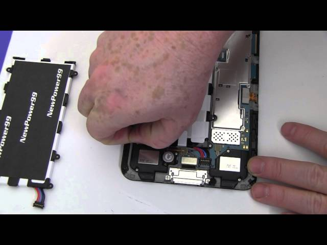 How to Replace Your Samsung Galaxy Tab 7 Plus GT-P6201 Battery