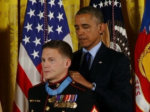 Obama Awards Prestigious Medal of Hono