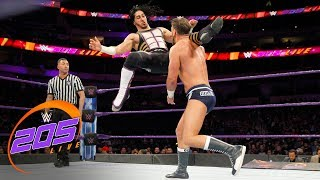 Mustafa Ali vs. Drew Gulak: WWE 205 Live, March 20, 2018