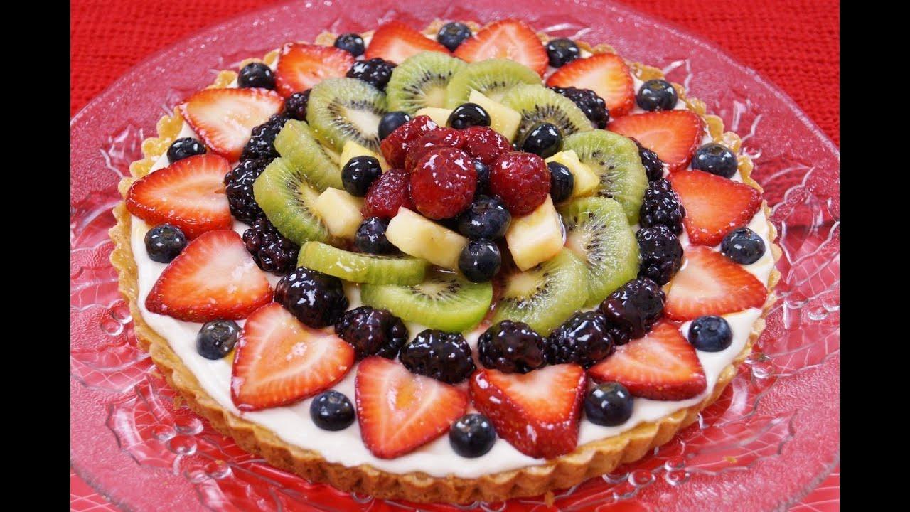 Fruit Tart Cake Wegmans