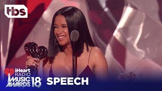Cardi B: 2018 iHeartRadio Music Awards | Acceptance Speech | TBS