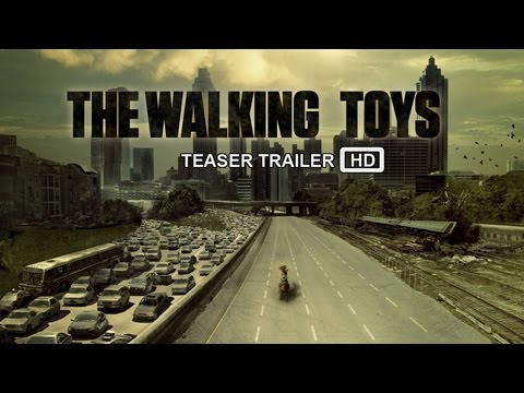 THE WALKING DEAD SEASON 4 TRAILER - TOY STORY EDITION