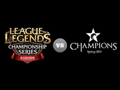 EU LCS vs Korea Champions Game2 - All-Star 2013 D1