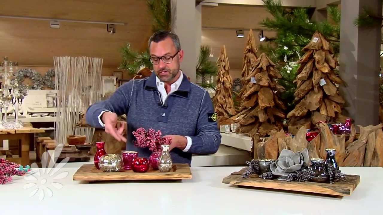 Robuust kaarsen plateau decoreren met Romeo Sommers   YouTube