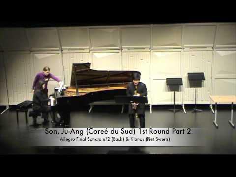 Son, Ju-Ang (Coreé du Sud) 1st Round Part 2