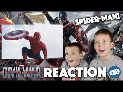 Captain America Civil War Trailer 2 Reaction and Review - Spider-Man!
