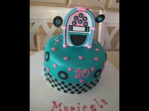 1950s cake ideas
