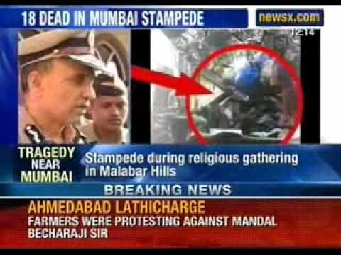 Latest News: Tragedy near Mumbai; 18 dead, 45 injured in stampedes - NewsX