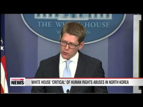 White House reitereates criticism of human rights abuses in North Korea