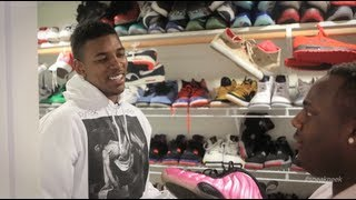 """Nick Young's Shoe Collection - A """"Sneak Peek"""" In Swaggy P's Sneaker Closet"""
