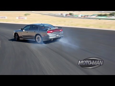 2012 Dodge Charger SRT8 on the Track