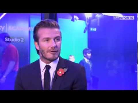 David Beckham gives his opinion on England's World Cup chances