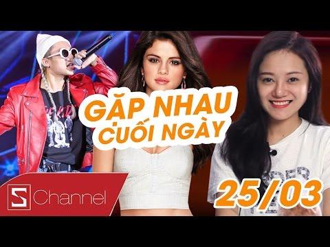 Schannel - #GNCN 25/3 : Sơn Tùng, quấy rối, Selena Gomez, trên tàu điện