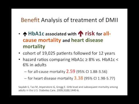 Risk-Benefit Analysis of Metformin Treatment of DM II