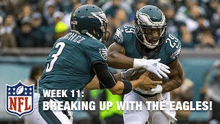 Radio Callers Breakup with the Eagles on 97.5 'The Fanatic' | NFL