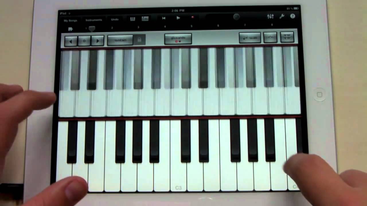 how to connect guitar to ipad gaarage band