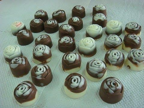 Chocolate praline demo