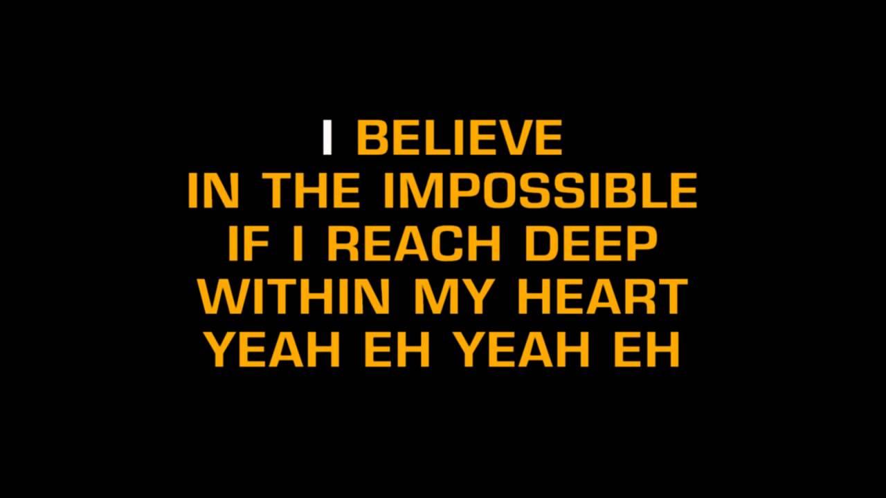 Fantasia-I Believe (Karaoke)