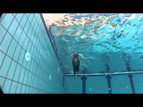Front Crawl kicks with arm& float