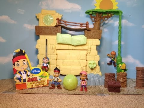 JAKE AND THE NEVERLAND PIRATES Secret Lost City Yo Ho Let's Glow Disney Junior Toy