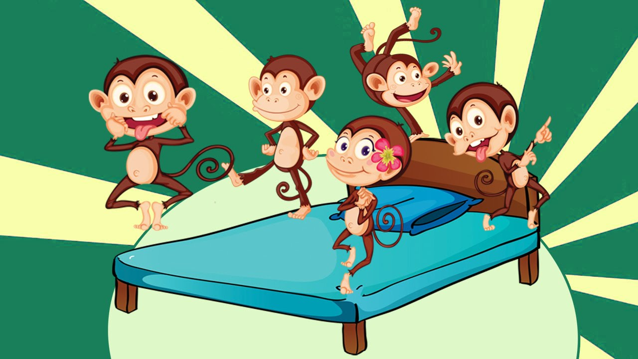Youtube Five Little Monkeys Jumping On The Bed 28 Images