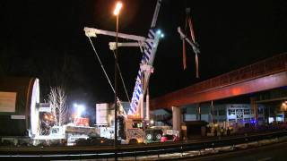 Spektakuläre Spezialkrane Transport Usabiaga.mp4